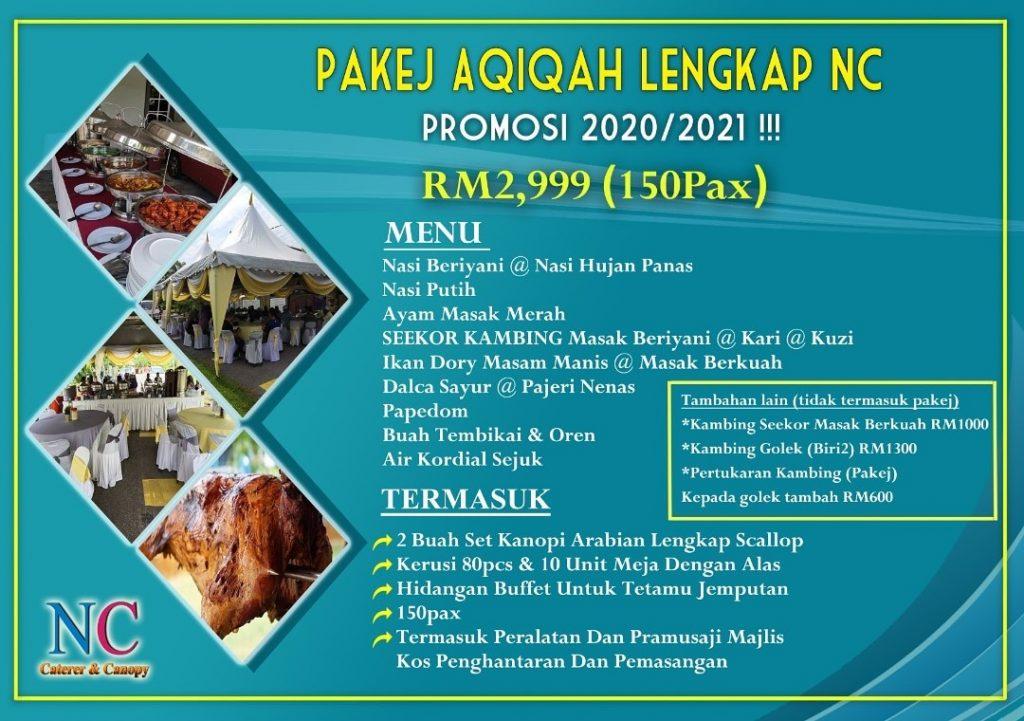 pakej aqiqah 2021 1024x721 - Pakej Akikah